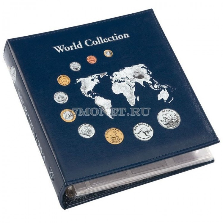 альбом для 143 монет World Collection