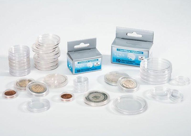 Купить капсулы для монет 30.5 мм по цене 190 руб. в интернет.